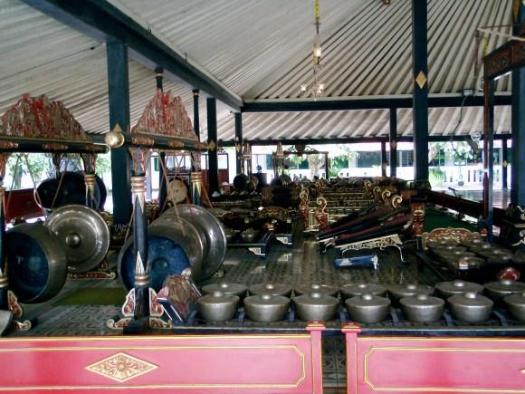Sultan's palace in Yogyakarta