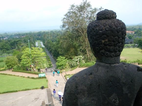 Borobudur, ancient Hindu temple in Yogyakarta