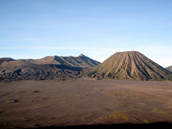 More of the volcano