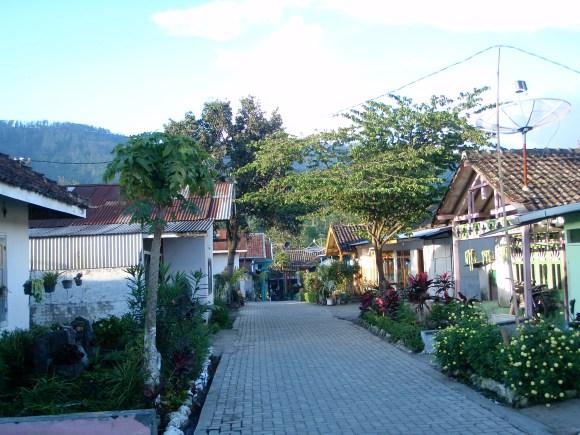 Tiny village surrounding the plantation