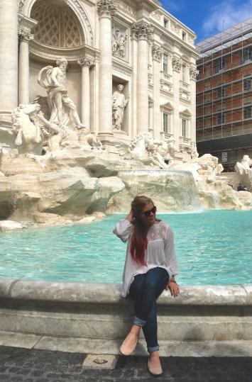 The Trevi Fountain. Italy.