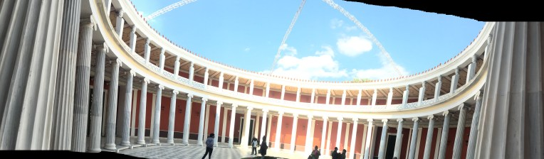 The first panoramic attempt. Greece.