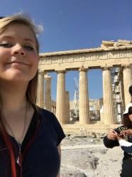 The Parthenon. Greece.