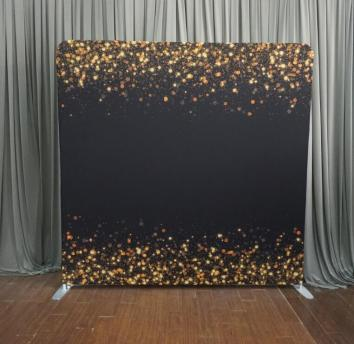 Black & Gold Sparkles