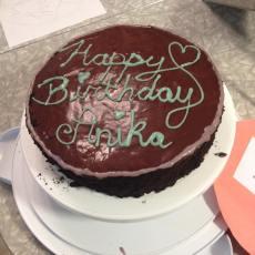 Chocolate Layer Cake & Orange Chocolate Ganache