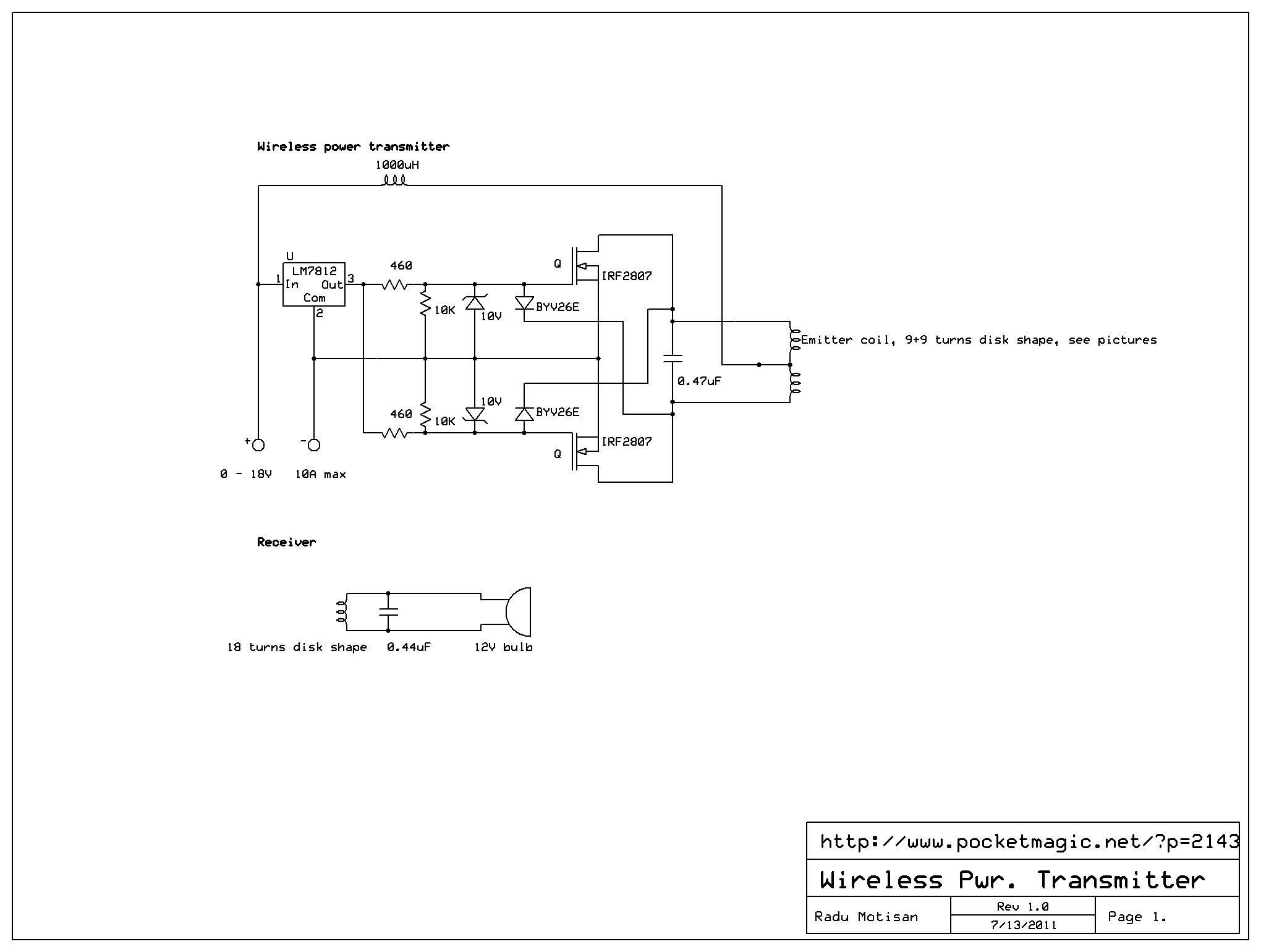 Wireless Power Transmitter