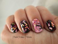 This polish was sent to me for review and here is how I used it - it was perfect for cherry blossom.