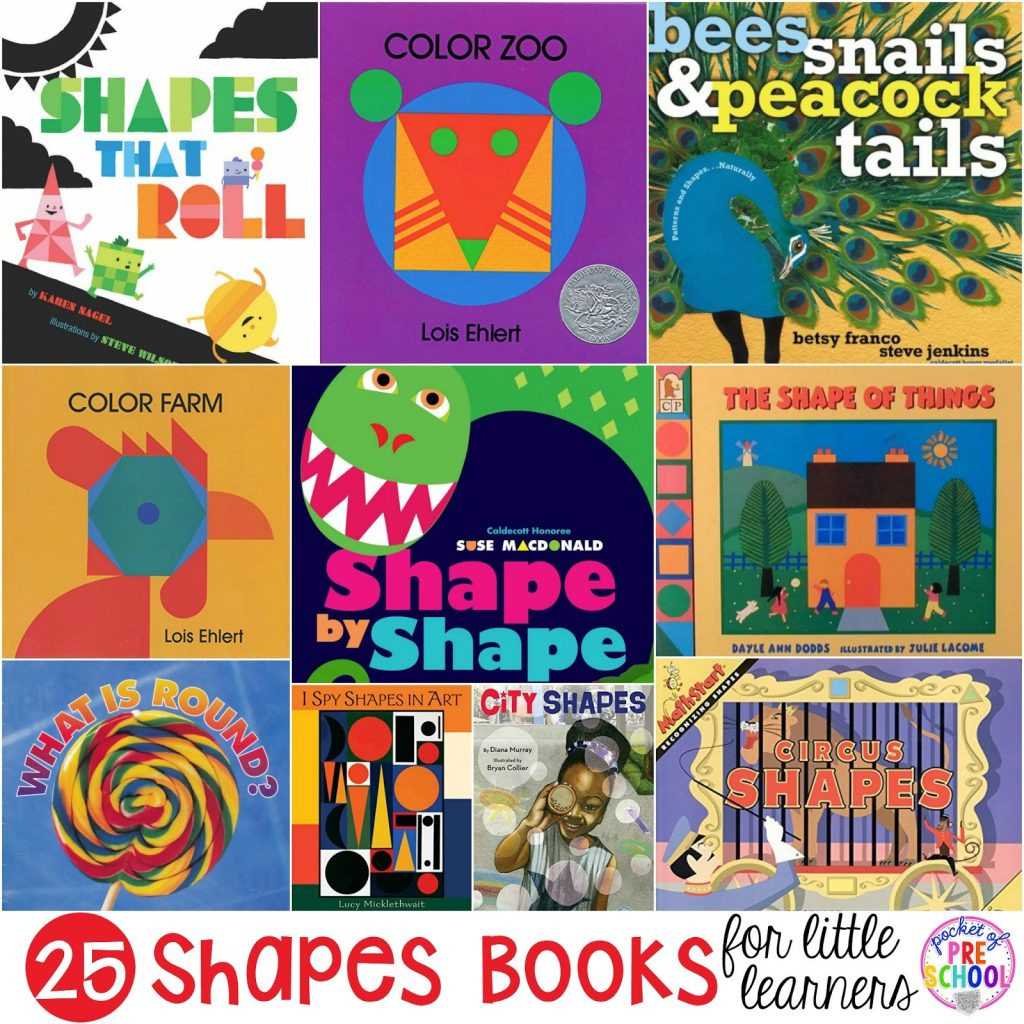 Shapes Books For Little Learners