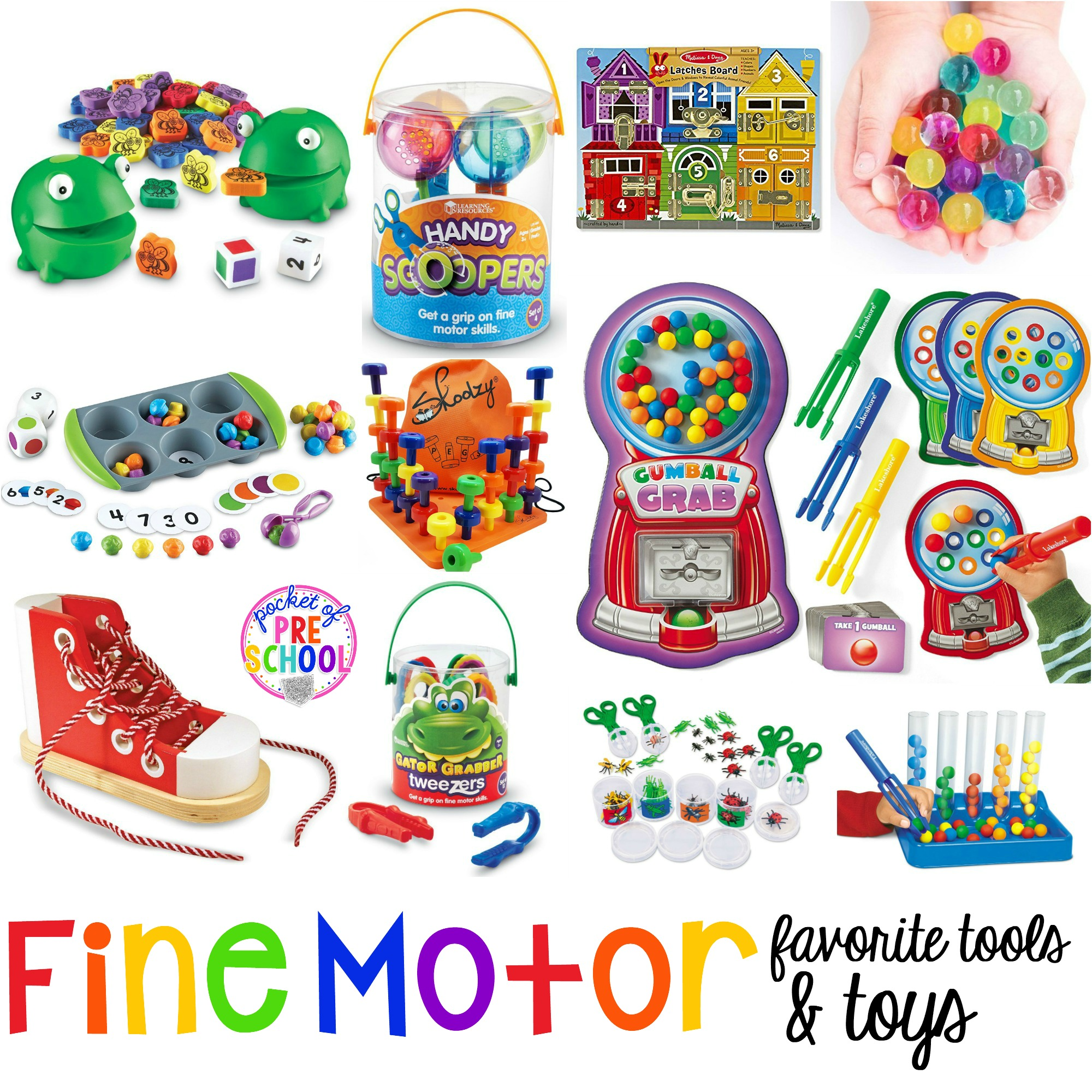 Favorite Fine Motor Tools Amp Toys For Preschool