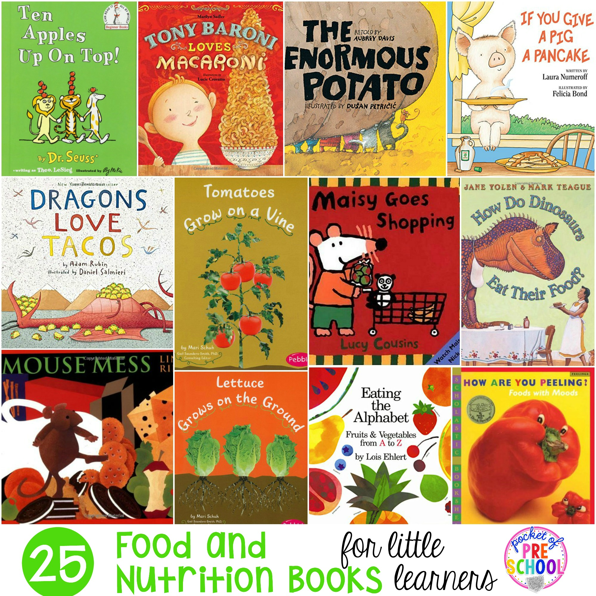 Food And Nutrition Books For Little Learners
