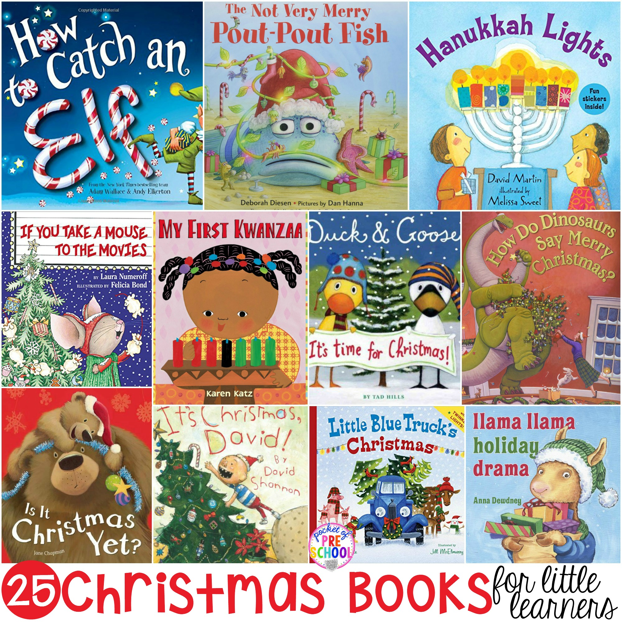 Christmas Books For Little Learners