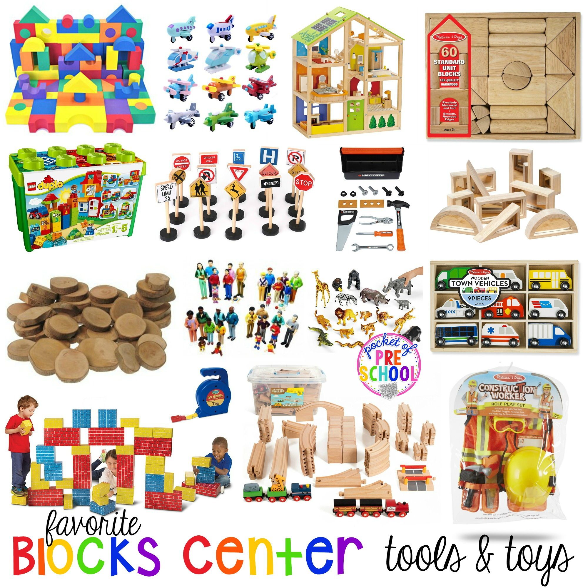 Favorite Blocks Center Tools And Toys For Preschool And