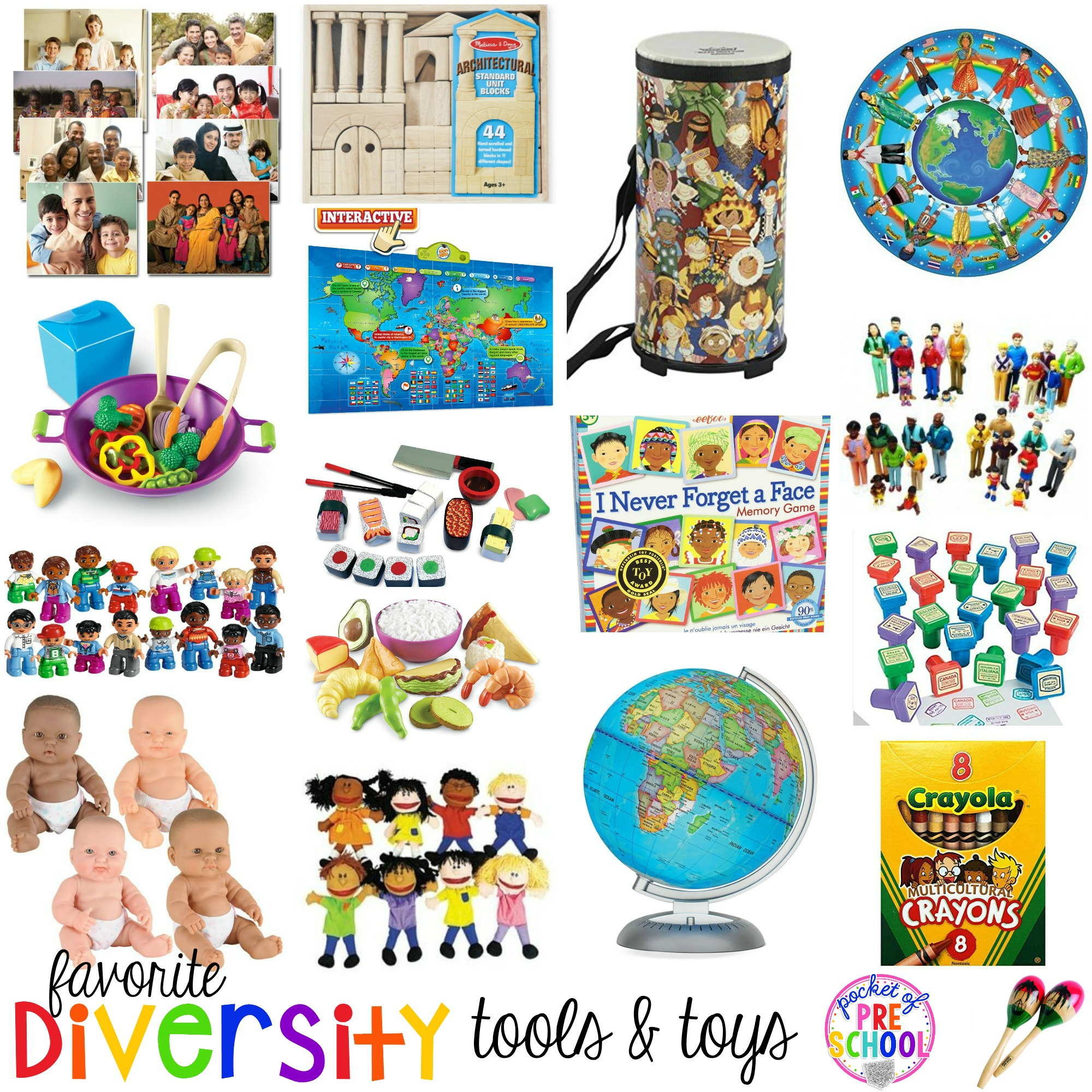 Favorite Diversity Tools Amp Toys For Preschool And Kindergarten