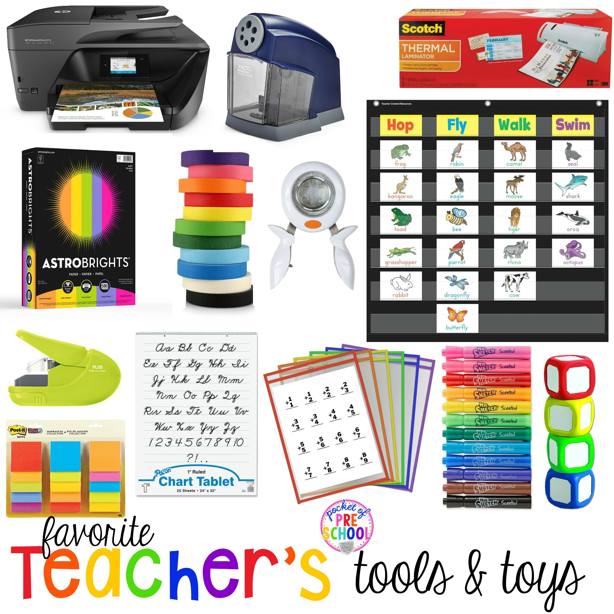 Favorite Teacher S Tools For Preschool Amp Kindergarten