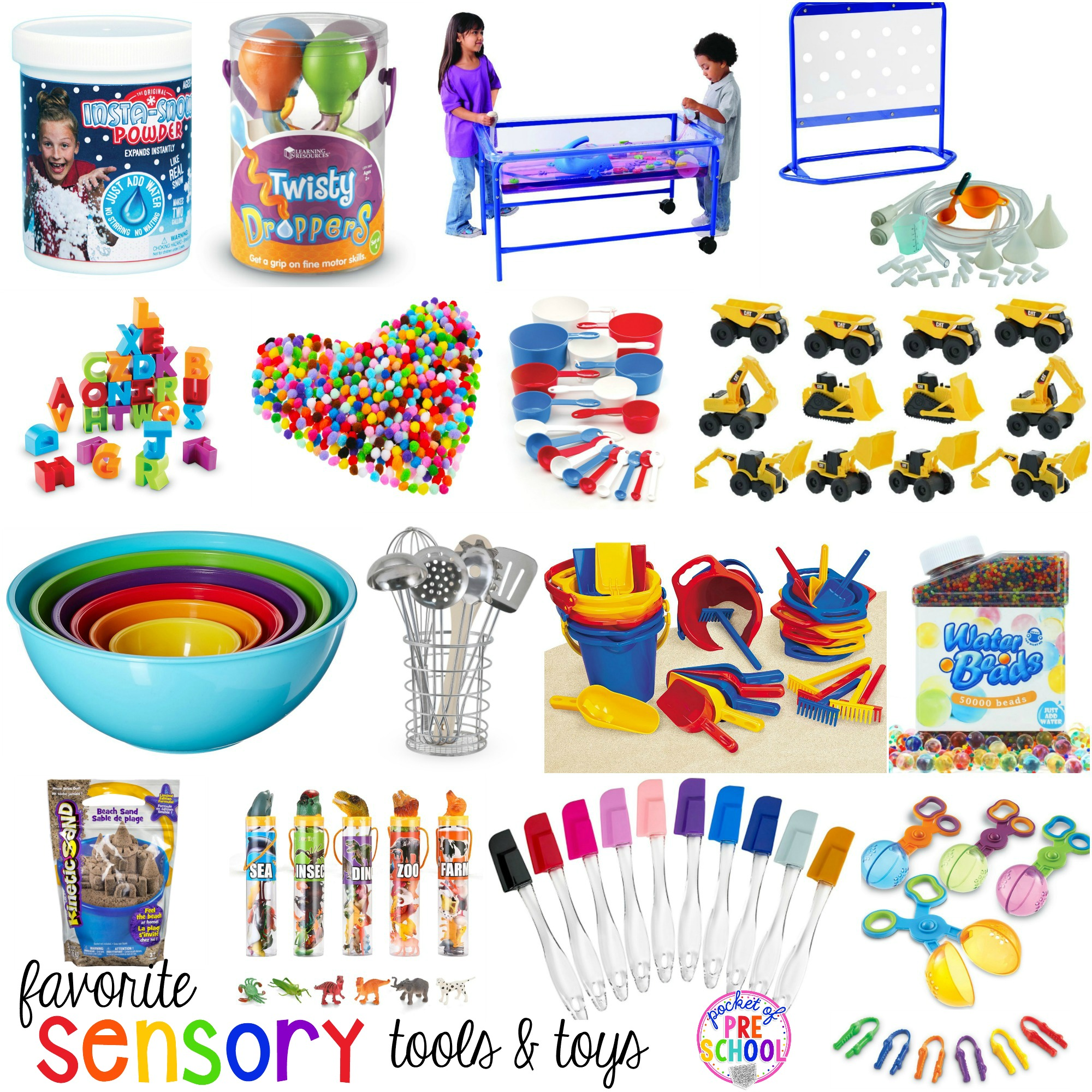 Favorite Sensory Table Tools And Toys