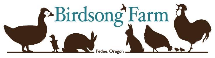 Birdsong Farm - Pedee, OR