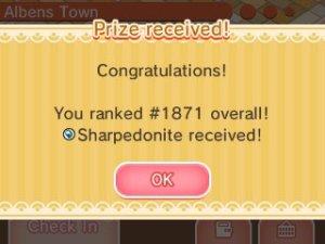 sharpedonite
