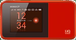 WiMAXの人気機種W03