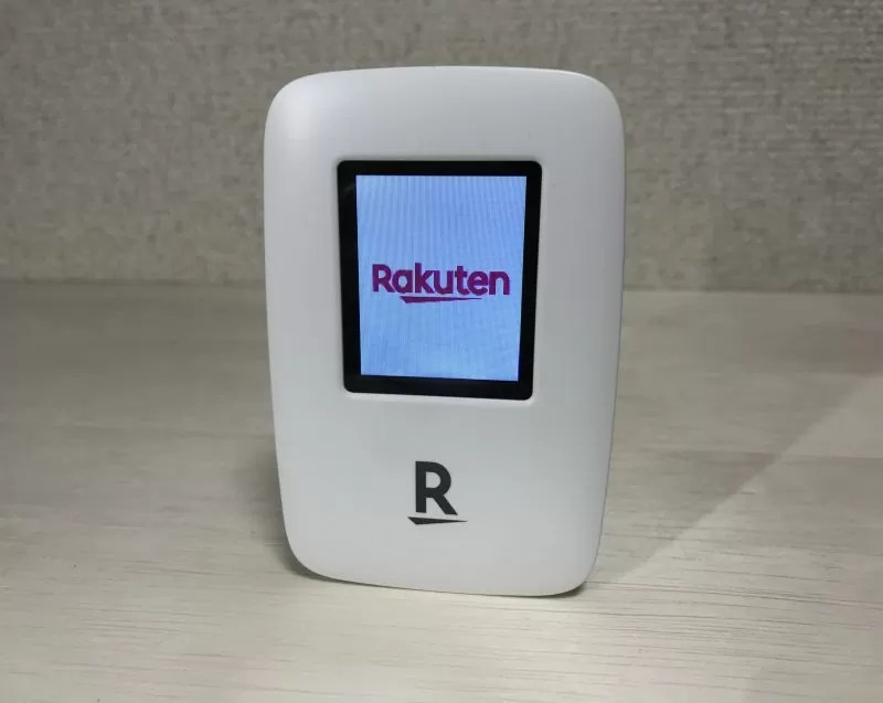 Rakuten WiFi Pocket R310 表面