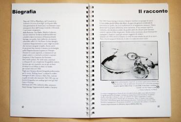 Doppia pagina introduzione fotografo - stampa