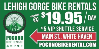 white haven bike rental