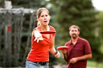 Top 5 Things to do for the 4th of July - disc golf in the poconos