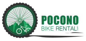 Pocono Bike Rental Horizontal Logo - White Haven, Poconos, PA