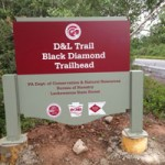 D and L Black Diamond Trail Trailhead Glen Summit Access Point