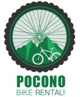 Pocono Bike Rental Vertical Logo - White Haven, Poconos, PA
