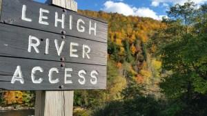 Lehigh Gorge State Park Fall Foliage