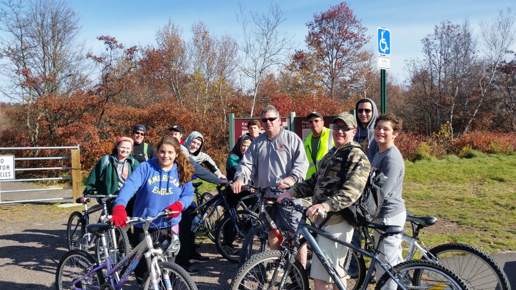Pocono Biking Big Day Out for Youth
