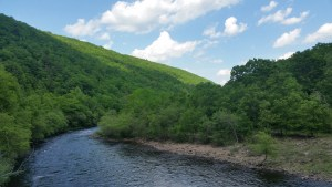 Penn Haven Junction Lehigh Gorge Trail near Jim Thorpe, PA
