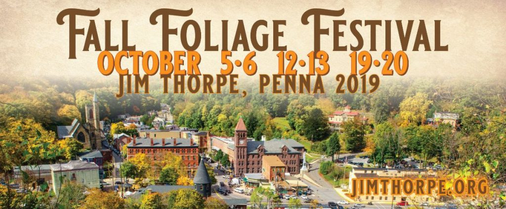 Pocono Mountains Fall Foliage Report 2019 - Jim Thorpe Fall Foliage Festival
