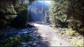Promienie słonca w Dolinie Białej Wody - sierpień 2012