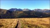 Widok podczas zejścia z Grzesia do Łatanej Doliny - wrzesień 2012