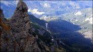 Spojrzenie w kierunku kolejki na Kasprowy Wierch - październik 2012