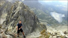 Orla Perć - widok z podejścia na Kozi Wierch - 12 sierpnia 2013