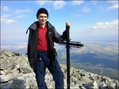 Na Sławkowskim Szczycie (2452 m n.p.m.) - 17 sierpnia 2013