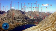 """E-book """"Fotograficzna topografia Tatr"""" - widok ze Szpiglasowej Przełęczy (2110 m n.p.m.)"""