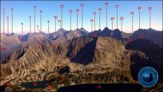"""E-book """"Fotograficzna topografia Tatr"""" - widok z Koziego Wierchu (2291 m n.p.m.)"""
