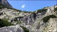 Widok na Wodospad Skok - 8 sierpnia 2013