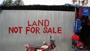 Land not for sale