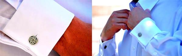 Самодельные запонки для папы