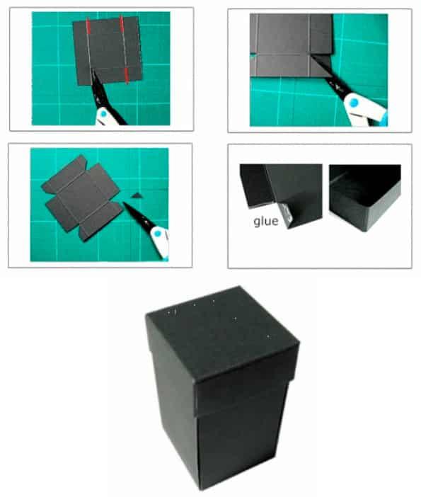 2. szakasz - doboz lepkékkel