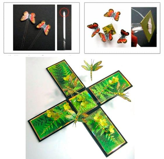 Στάδιο 3 - κουτί με πεταλούδες
