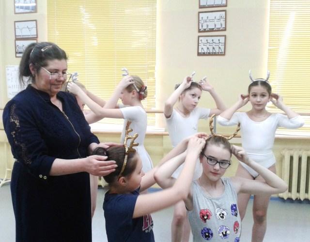 Атрибуты для танцевального коллектива.