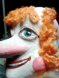 Парик для театральной куклы.