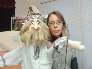 Образ куклы Домовой.Театр.