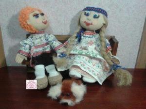 Одна выкройка для кукол