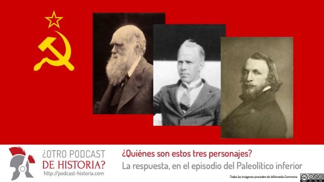 Concurso de ¿Otro podcast de historia?: A ver si adivináis quienes son estos tres personajes